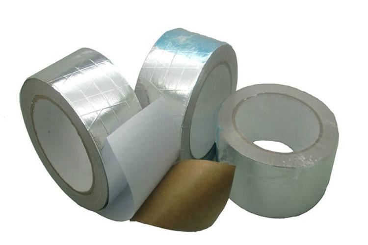 Reinforced Flame Retardant Aluminum Foil Tape Aluminum